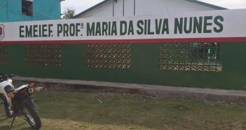 Prefeito entrega ao Distrito de Brasília Legal a reforma da Escola Maria da Silva Nunes