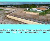 Construção do Cais de Arrimo na Sede Municipal